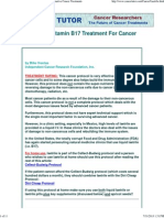 Laetrile _ Vitamin B17 Treatment for Cancer - Alternative Cancer Treatments
