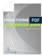 Functions in SQL Server Practical Guide