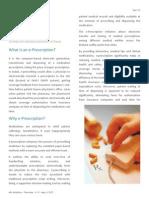 E Prescription Overview