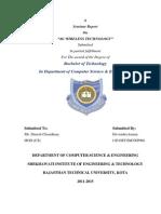 4G Wireless Technology Seminar Report