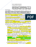 Resumen y notas de Derecho Administrativo