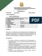 Syllabus Hidrogeología - Raúl Ortiz-2014-II
