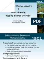 TerrestrialPhotogrammetry and LaserScanning 2011