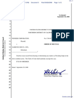 Pioneer Corporation-v-Samsung SDI Co Ltd. - Document No. 3