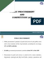 Public Procurement and Competition Law