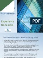 Improving Competition in Public Procurement -1