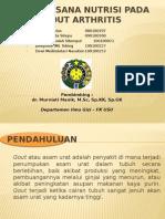 Tatalaksana nutrisi pada gout arthritis.pptx
