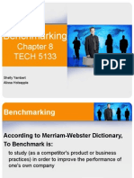 Benchmarking Chapter8