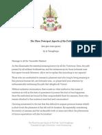 Tsongkhapa- Principal Aspects