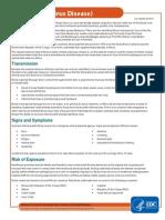 Ebola Factsheet