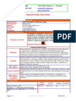 BETTER DRIVE-Antifreeze Liquid MSDS