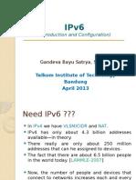 IPv6 - GBS V1