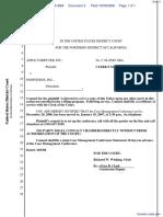 Apple Computer, Inc. v. Podfitness, Inc. - Document No. 4