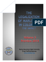 Vol. 3 2015 PREVIEW Legalization of MJ in Colorado the Impact