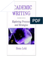 3 Academic Writing Exploring Processes and Stra