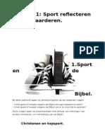 sport en de bijbel