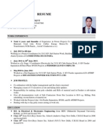 Electrical engg resume