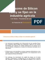 Los Inversores de Silicon Valley Se Fijan en La Industria Agrícola
