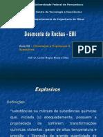 Introdução a Explosivos & Acessórios