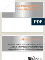 Interaction Within Team and Team Motivation