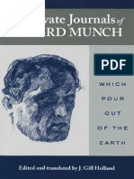 The Private Journals of Edvard Munch