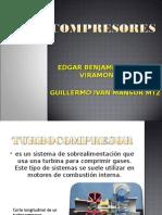 1. Turbocompresores
