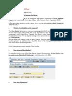 ABAP Classes in Workflow