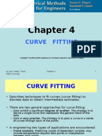CHE 555 Curve Fitting