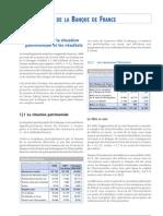 Les Comptes de La Banque de France