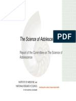 Science of Adolescence Report Briefing