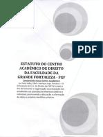 Estatuto Centro Acadêmico de Direito - FGF