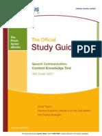 eBook Speech Comm Ck Study Guide 752991