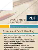 10 Events and Event Handling