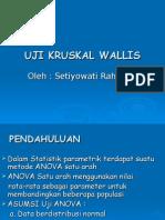 Uji Kruskal Wallis Vit