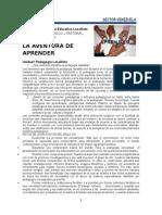 LA AVENTURA DE APRENDER-Actividades de La Unidad 1