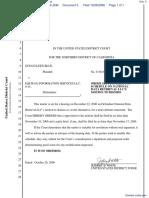 Blue v. Equifax Information Services LLC et al - Document No. 5