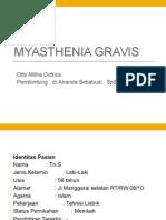 Myasthenia Gravis Ppt Maju