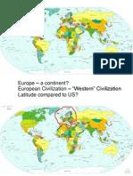 european map activity