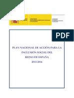 Plan nacional de inclusion social