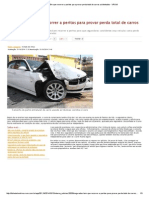 Segurados Têm Que Recorrer a Peritos Para Provar Perda Total de Carros Acidentados - VRUM