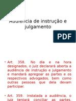 2015- Audi+¬ncia de instru+º+úo e julgamento