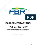 PARLIAMENTARIANS TAX DIRECTORY 2014Dt10042015