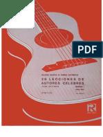 Colección Didáctica de Grandes Guitarristas
