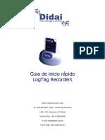 Guia de InicGuia de Inicio Rápido - LogTag Portuguêsio Rápido - LogTag Português