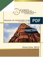 Manual de Auditoría Gubernamental 2015