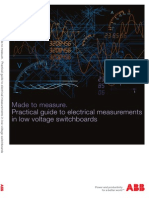 Electrical Measurements in Low Voltage Switchboards
