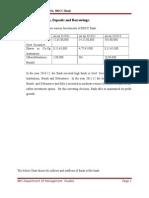 MBA report on KMF