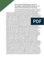H O T a R I R E Pentru Aprobarea Regulamentului Cu Privire La Procedura Dobindirii Si Pierderii Cetateniei Republicii Moldova Nr