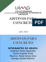 Trabalho de Aditivo - Pos Graduação Ufmg