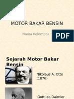Motor Bakar Bensin